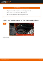 Auto mechanic's recommendations on replacing PEUGEOT PEUGEOT 107 1.4 HDi Brake Pads