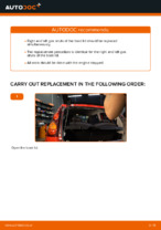 Step-by-step repair guide for