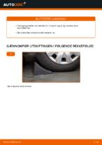Montering Opphengsarmer BMW 3 (E90) - steg-for-steg manualer