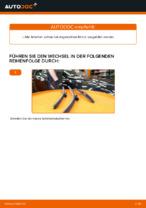 ALFA ROMEO Scheibenwischerblätter Front + Heckscheibe wechseln - Online-Handbuch PDF