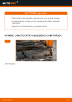 Ako vymeniť pružiny predného zavesenia kolies na OPEL CORSA C (F08, F68)