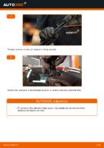 Ako vymeniť lištu zadného stierača na aute FIAT BRAVO II (198)