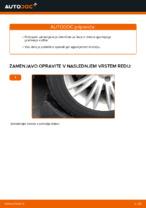 Avtomehanična priporočil za zamenjavo FIAT FIAT BRAVO II (198) 1.6 D Multijet Vzmetenje