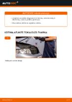 Kaip pakeisti variklio oro filtrą AUDI A4 B6