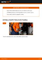 Kaip pakeisti alyvą ir alyvos filtrą AUDI A4 B6