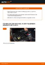 RENAULT Stoßdämpfer Satz Gasdruck wechseln - Online-Handbuch PDF