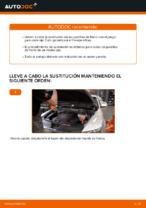 Cómo cambiar las pastillas de freno de discos delantero Audi A6 C6_4F