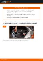 Ako vymeniť predné brzdové platničky kotúčovej brzdy na Audi A6 C6_4F
