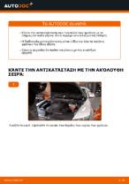 Πώς αλλαγη και ρυθμιζω Τακάκια Φρένων AUDI A6: οδηγός pdf
