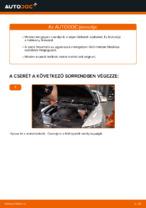 Audi A6 C6_4F tárcsafék első fékbetét csere