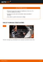 Kā nomainīt un noregulēt Bremžu uzlikas AUDI A6: pdf ceļvedis
