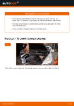 Cum se înlocuiesc plăcuțele din față ale frânei cu disc Audi A6 C6_4F