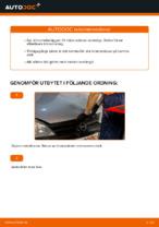 Steg-för-steg-guide i PDF om att byta Fjädrar i OPEL CORSA C (F08, F68)