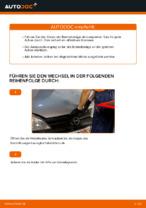 Auswechseln von Bremsbacken für Trommelbremse Anleitung PDF für OPEL CORSA