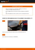Hoe de remschoenen van de achterste trommelremmen vervangen op Opel Corsa C