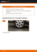 Gratis instruktioner online hur installerar man Fjäderben VOLVO V50 (MW)