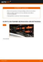 Automekaanikon suositukset VOLVO Volvo v50 mw 1.6 D -auton Raitisilmasuodatin-osien vaihdosta
