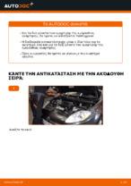 Αλλαγή Αμορτισέρ FIAT BRAVA: εγχειριδιο χρησης