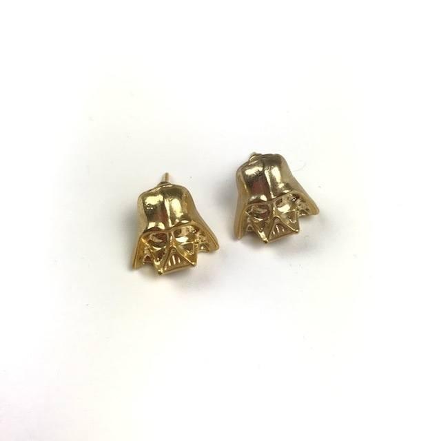 Brinco Darth Vader - Dourado