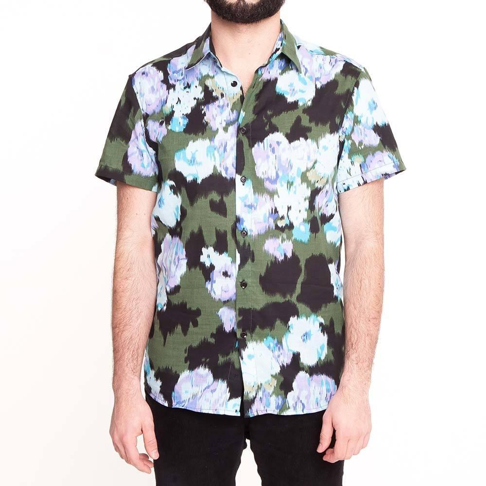 Camisa Florida Abstrata
