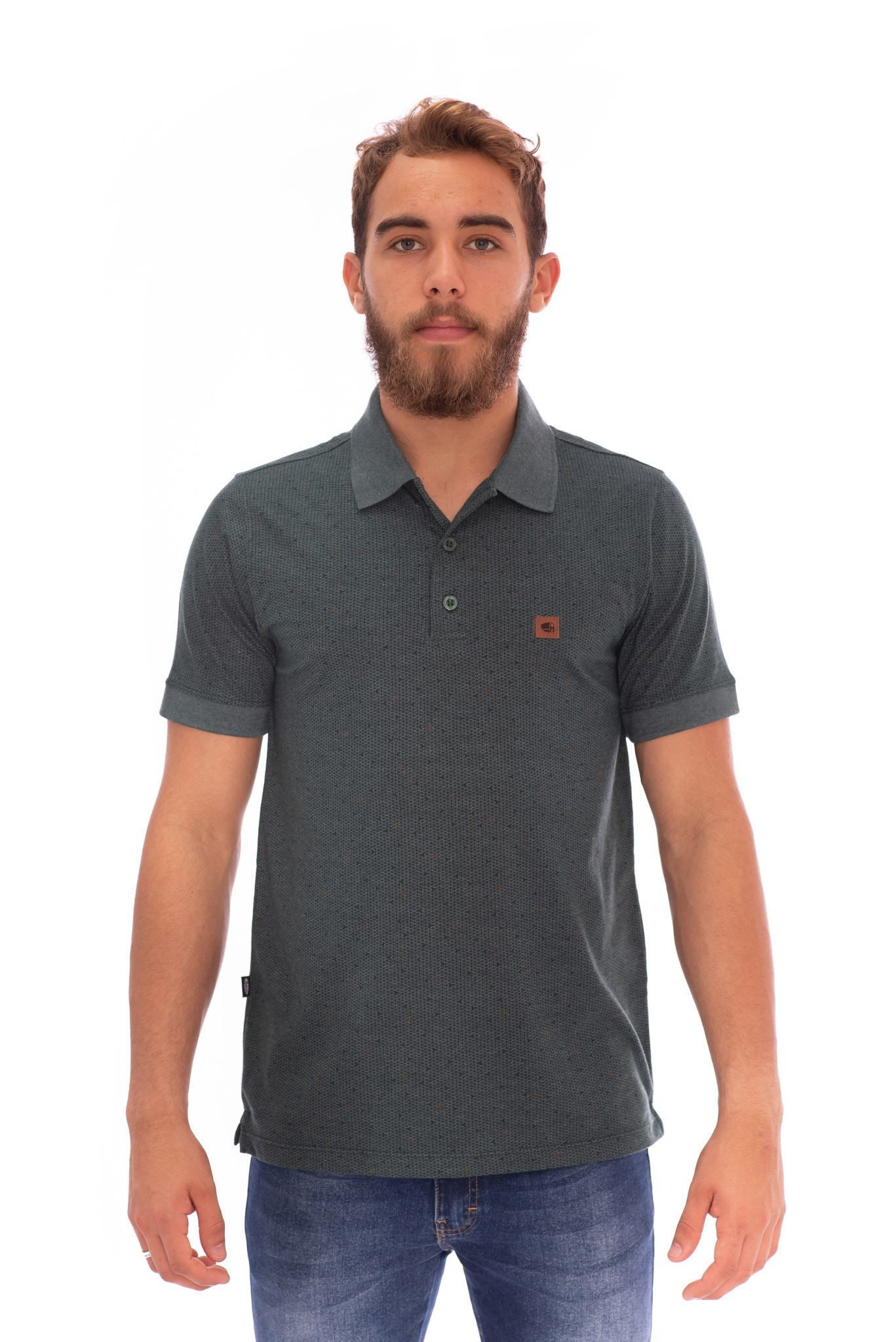 CAMISA GOLA POLO AEE SURF SLIM CONNECT VERDE REF. 116