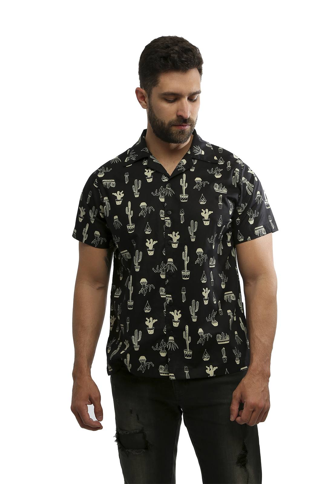 Camisa Hardivision Arizona Manga Curta