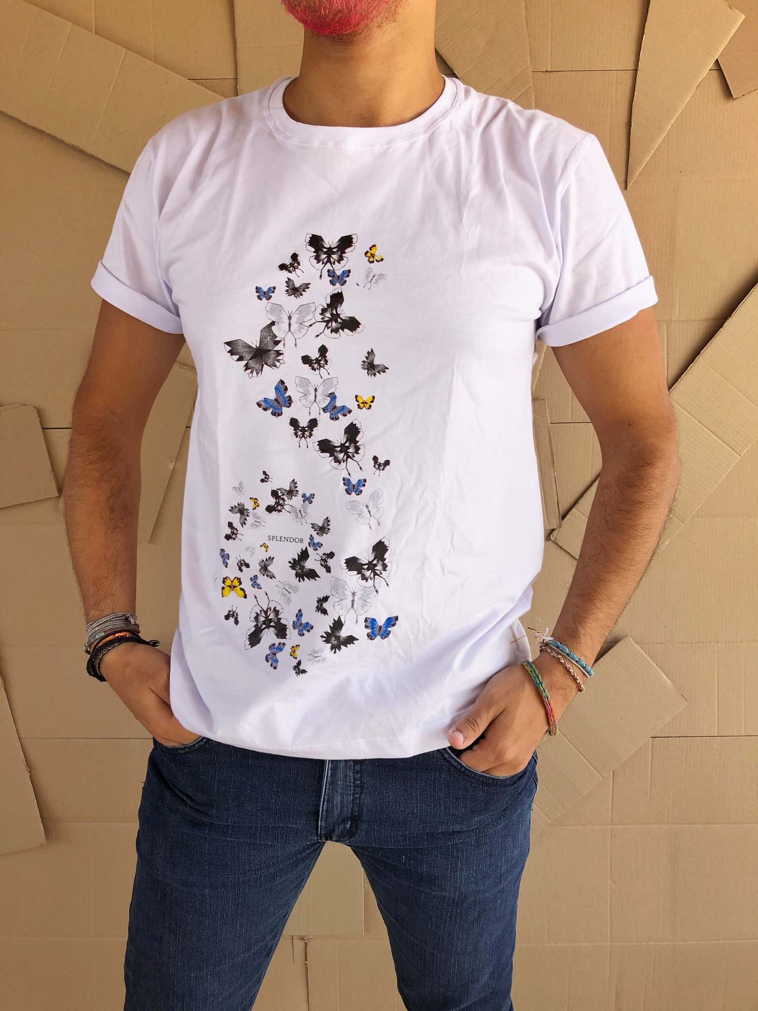 Camiseta Borboletas no Estômago