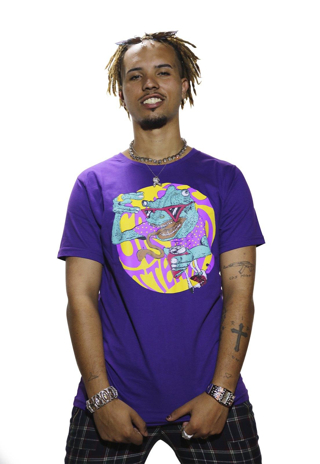 Camiseta Grungetteria Geladeira Roxa