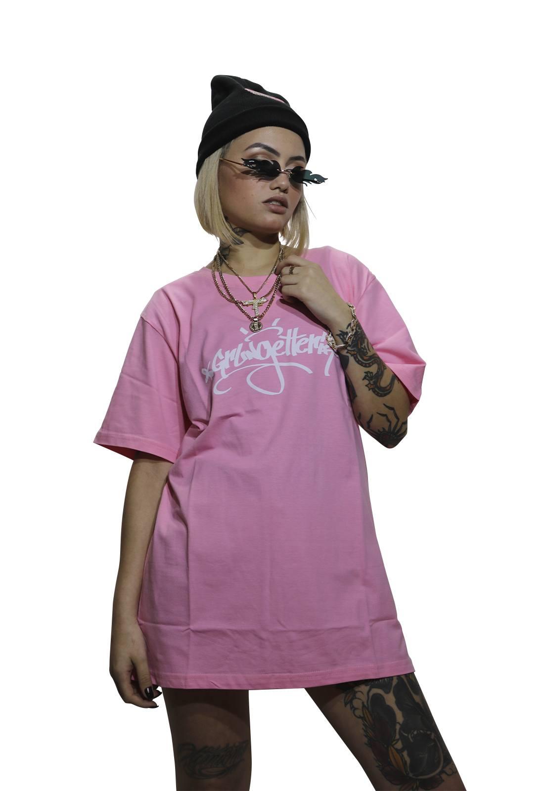 Camiseta Grungetteria GTT Rosa
