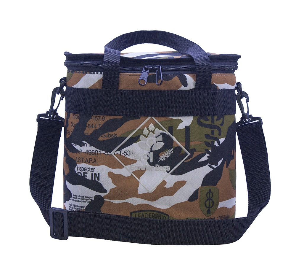 Can Bag Camuflada - Bolsa Térmica p/ Latas e Long Necks
