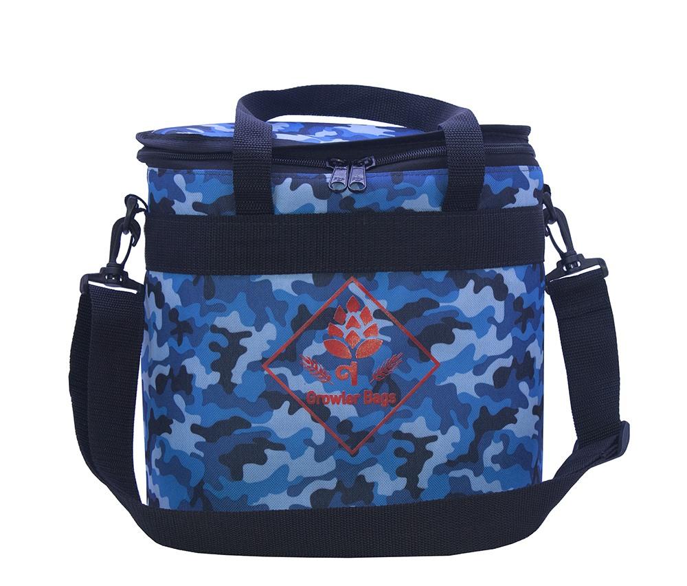 Can Bag Camuflada Navy - Bolsa Térmica p/ Latas e Long Necks