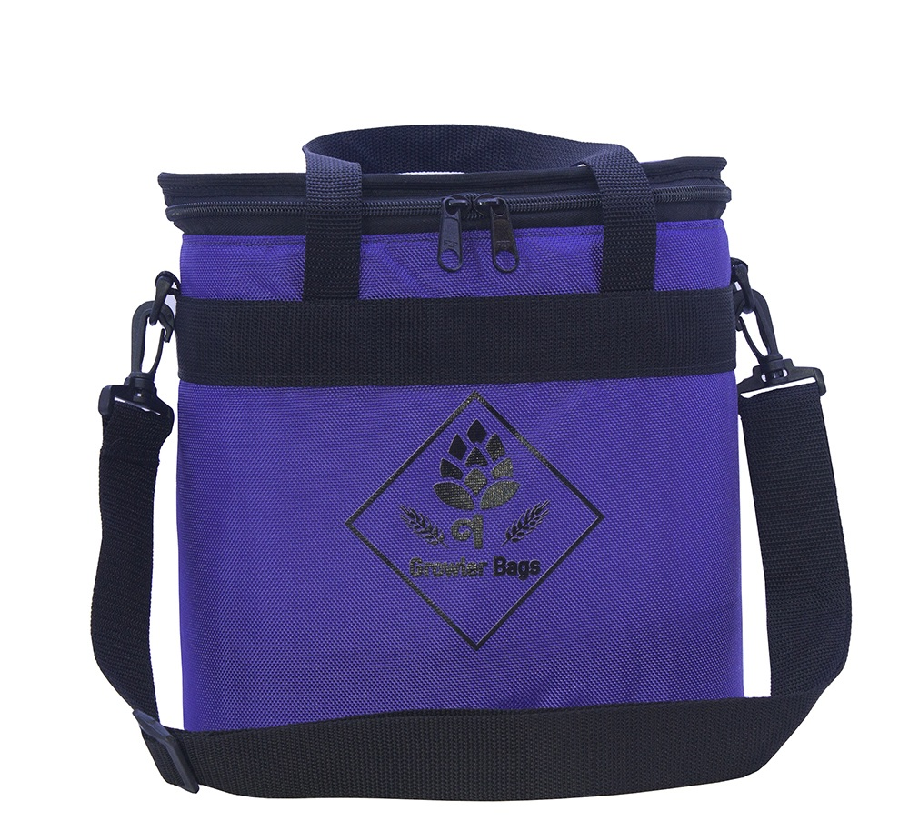 Can Bag Roxa - Bolsa Térmica p/ Latas e Long Necks