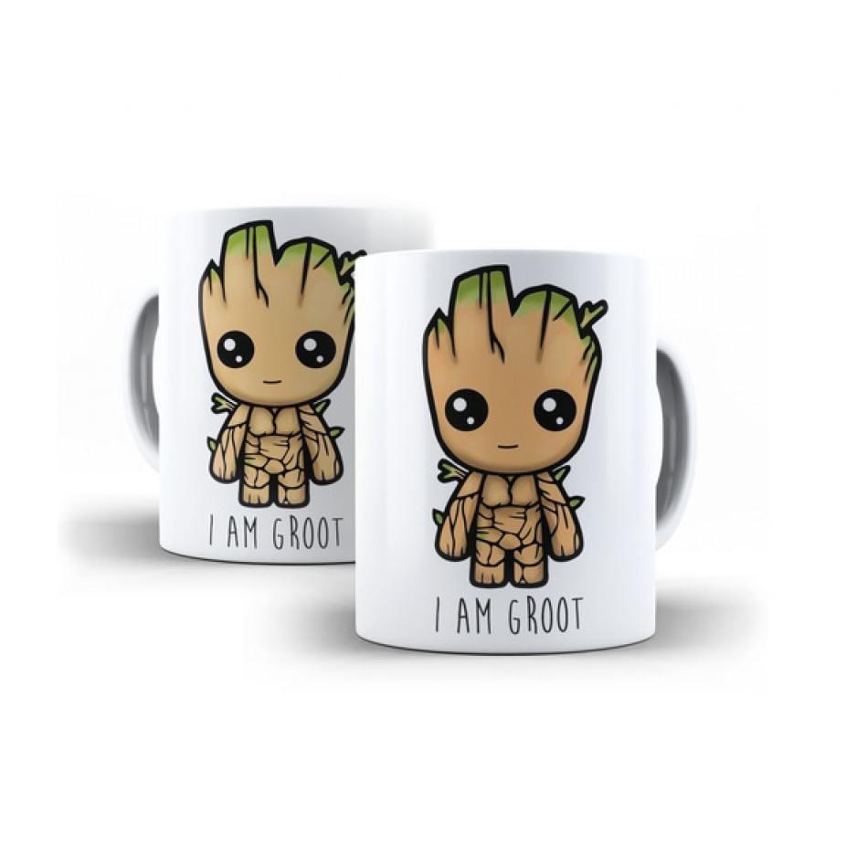 Caneca Baby Groot ( Guardiões da Galáxia )