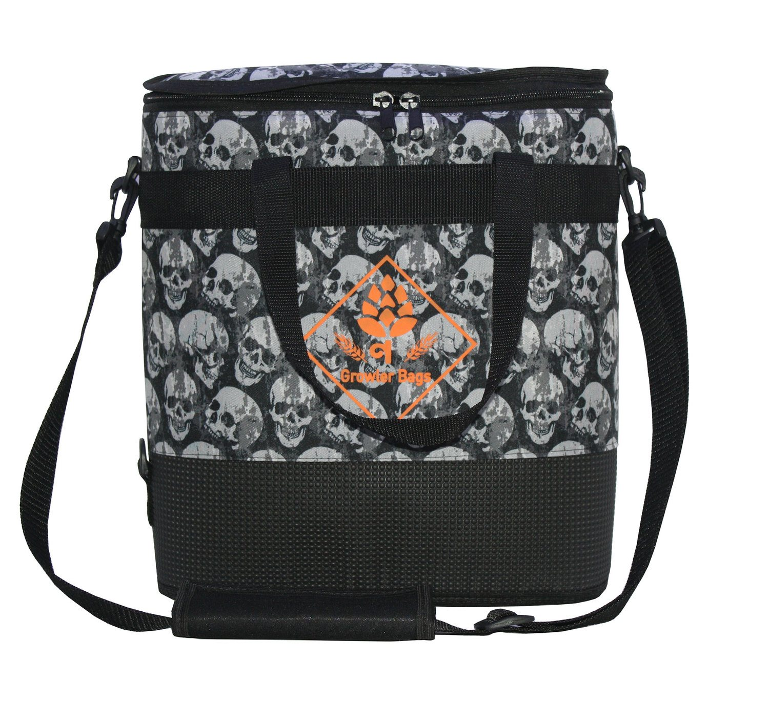Growler Bag Double Caveira - Bolsa Térmica grande p/growler