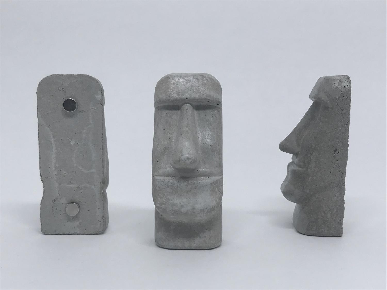 Imãs Moai - 3 unid.