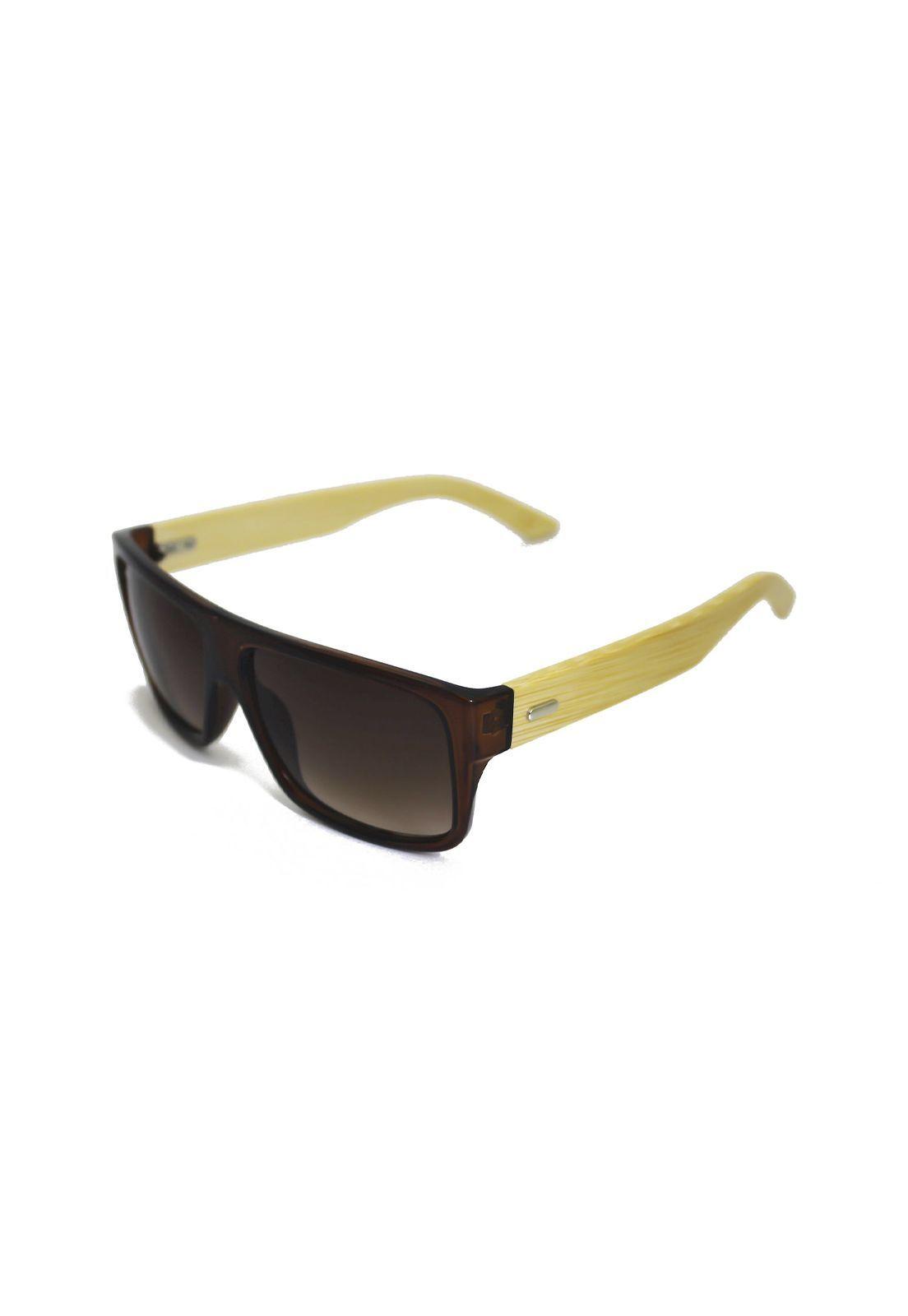 Óculos de Sol Grungetteria Bambooard Marrom