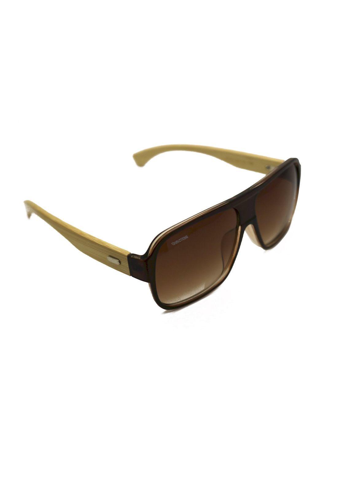 Óculos de Sol Grungetteria Bamboocean Marrom