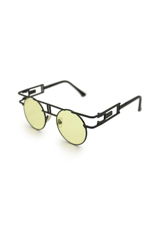 Óculos de Sol Grungetteria Bender Amarelo