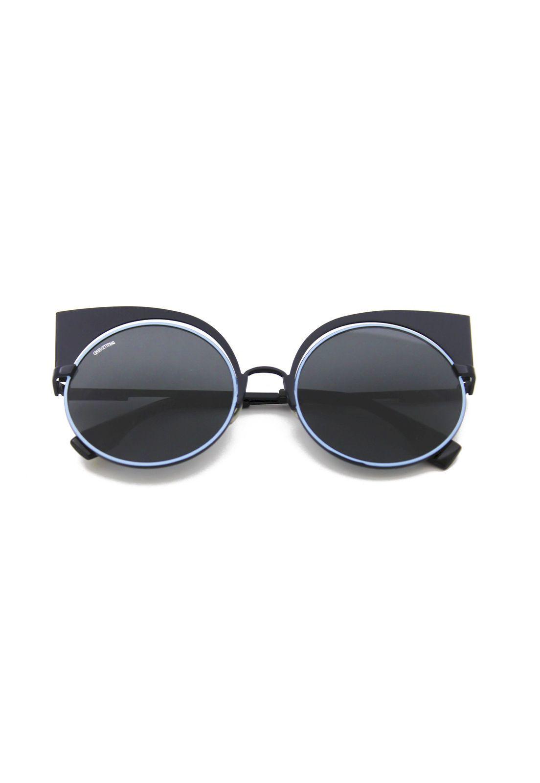 Óculos de Sol Grungetteria Cat Empire Azul