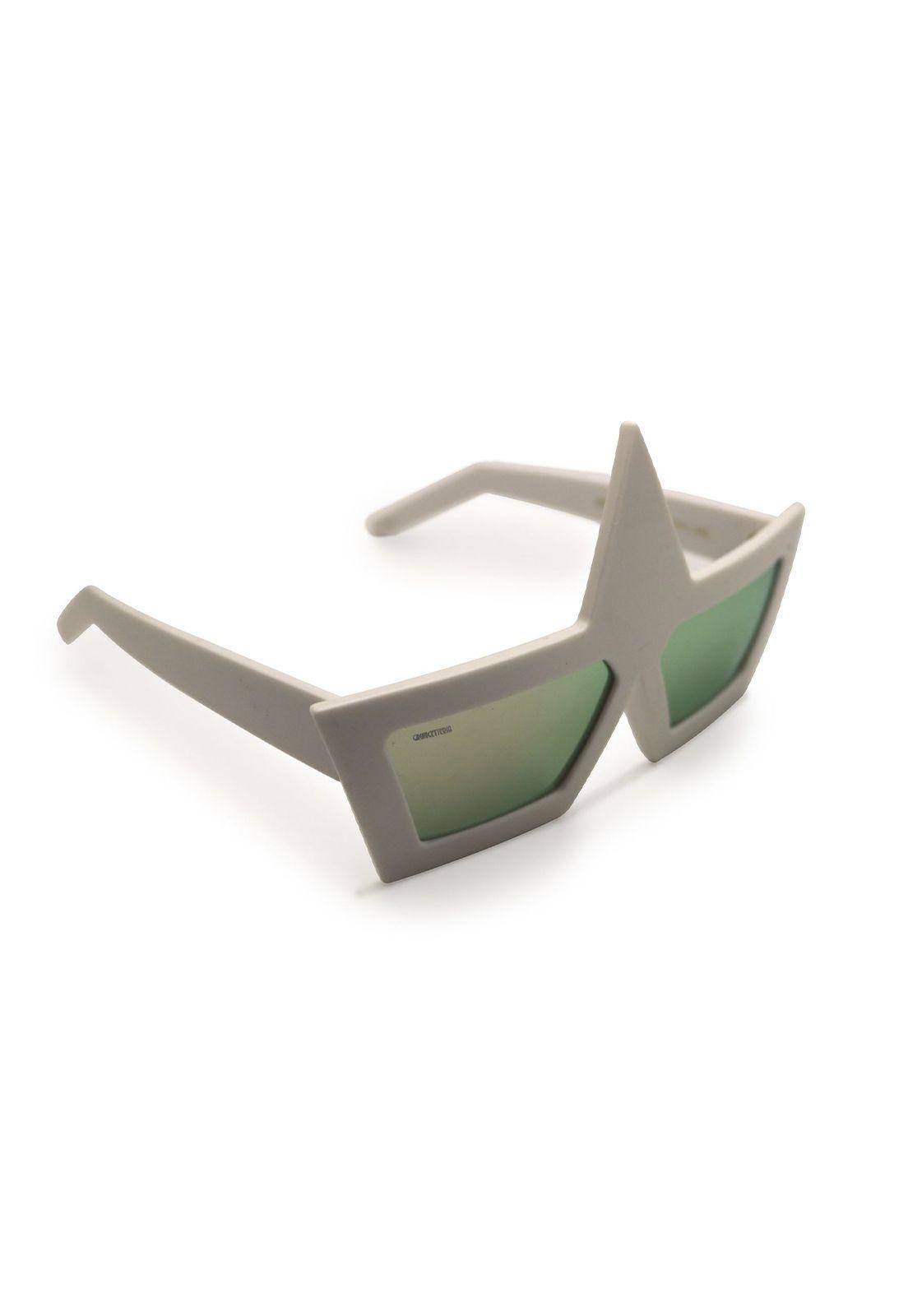 Óculos de Sol Grungetteria Charlie Branco