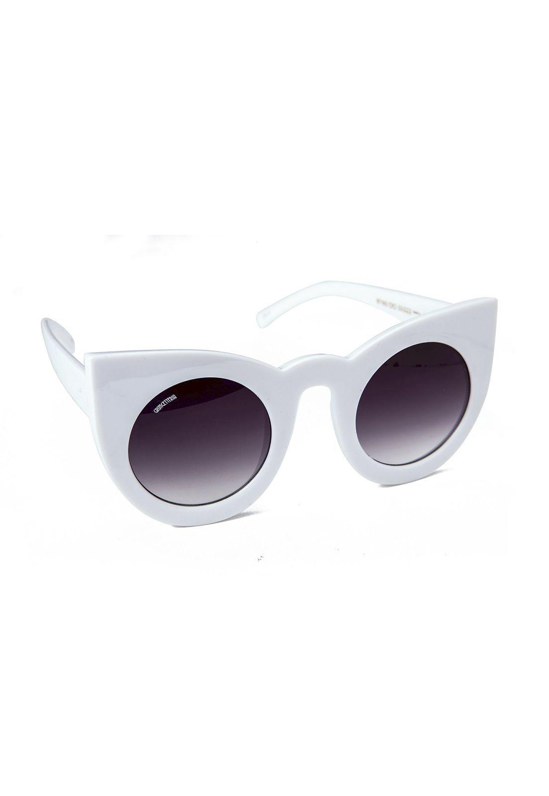 Óculos de Sol Grungetteria Devil Branco