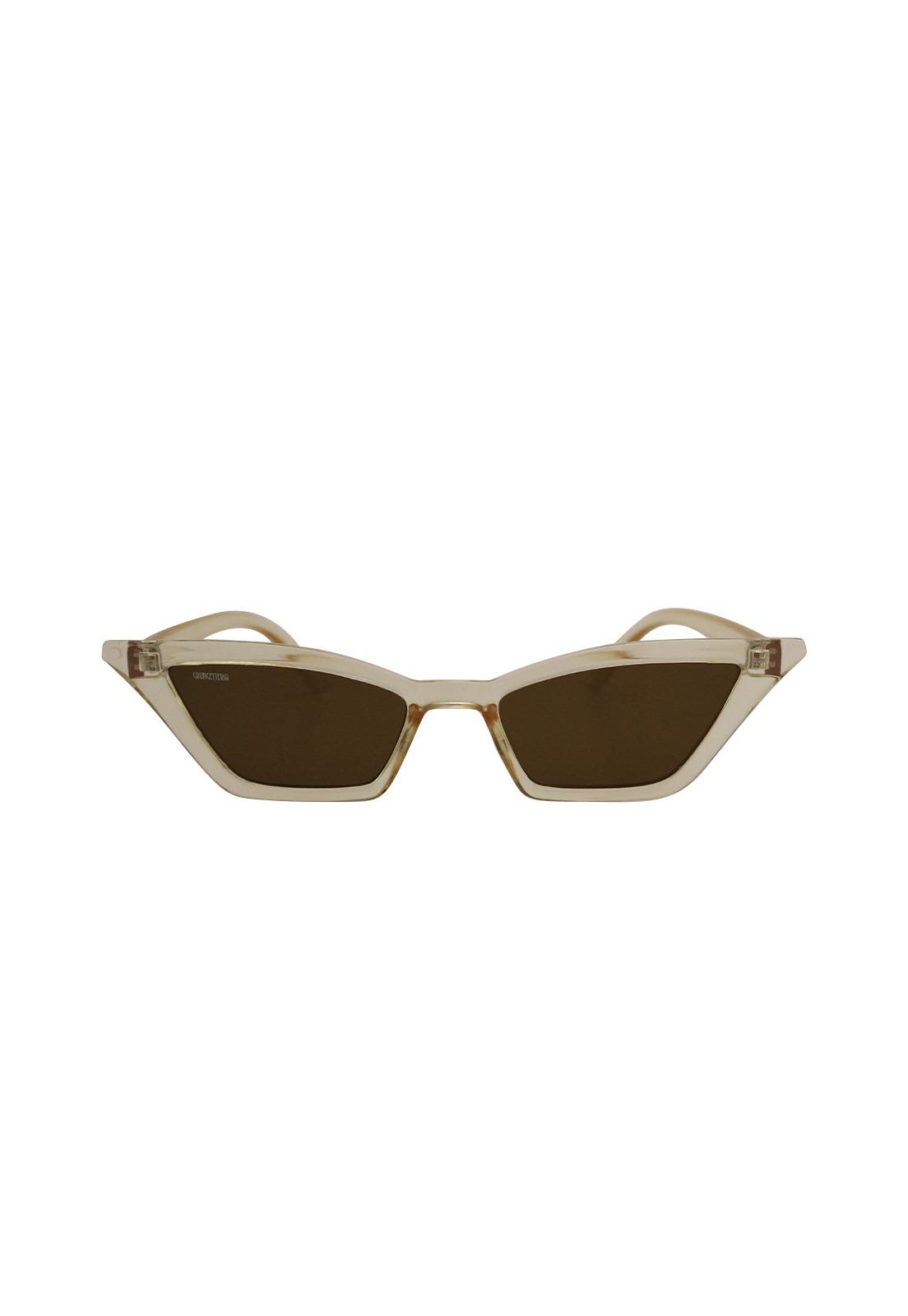 Óculos de Sol Grungetteria Devil's Cat Transparente
