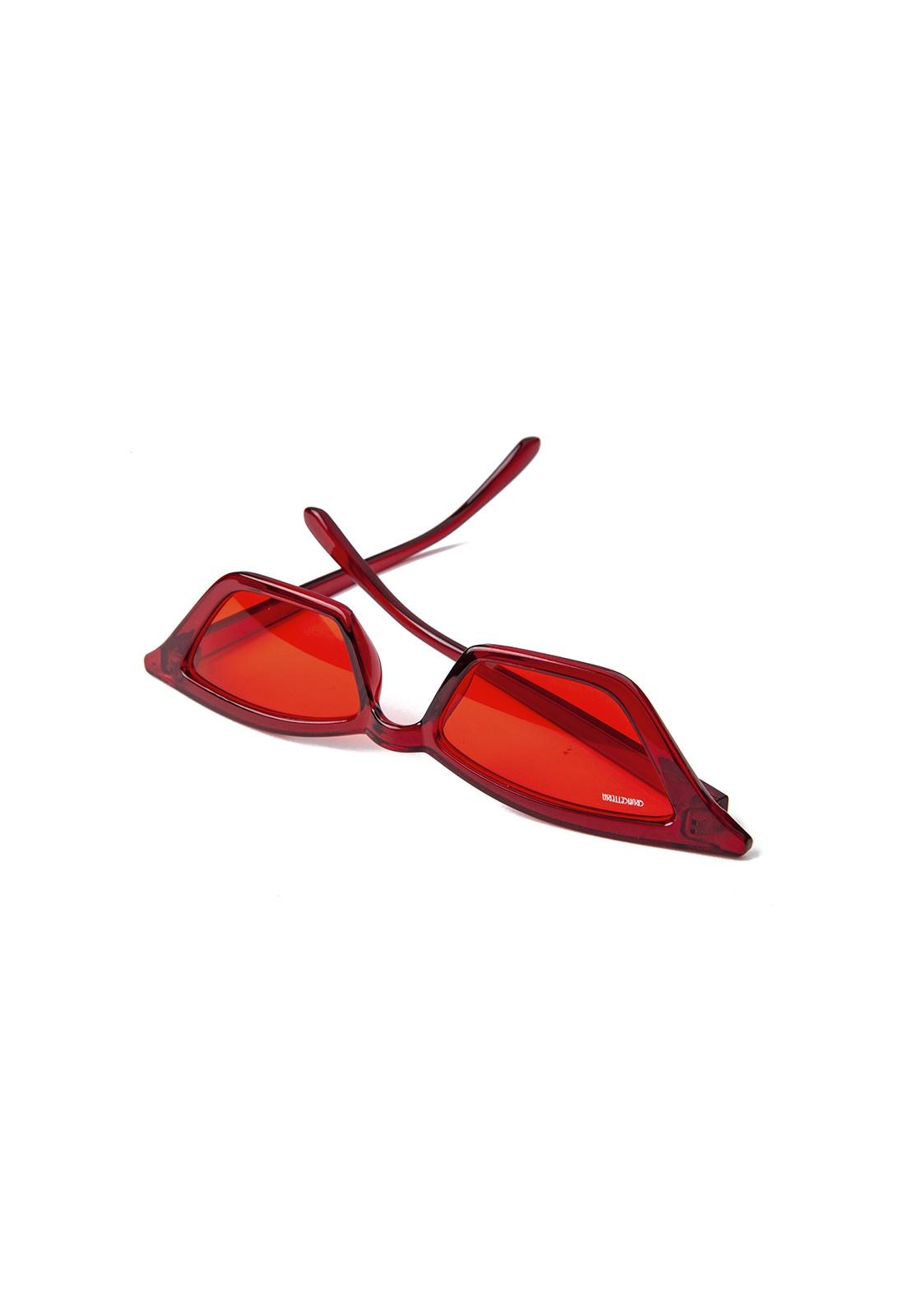 Óculos de Sol Grungetteria Devil's Cat Vermelho