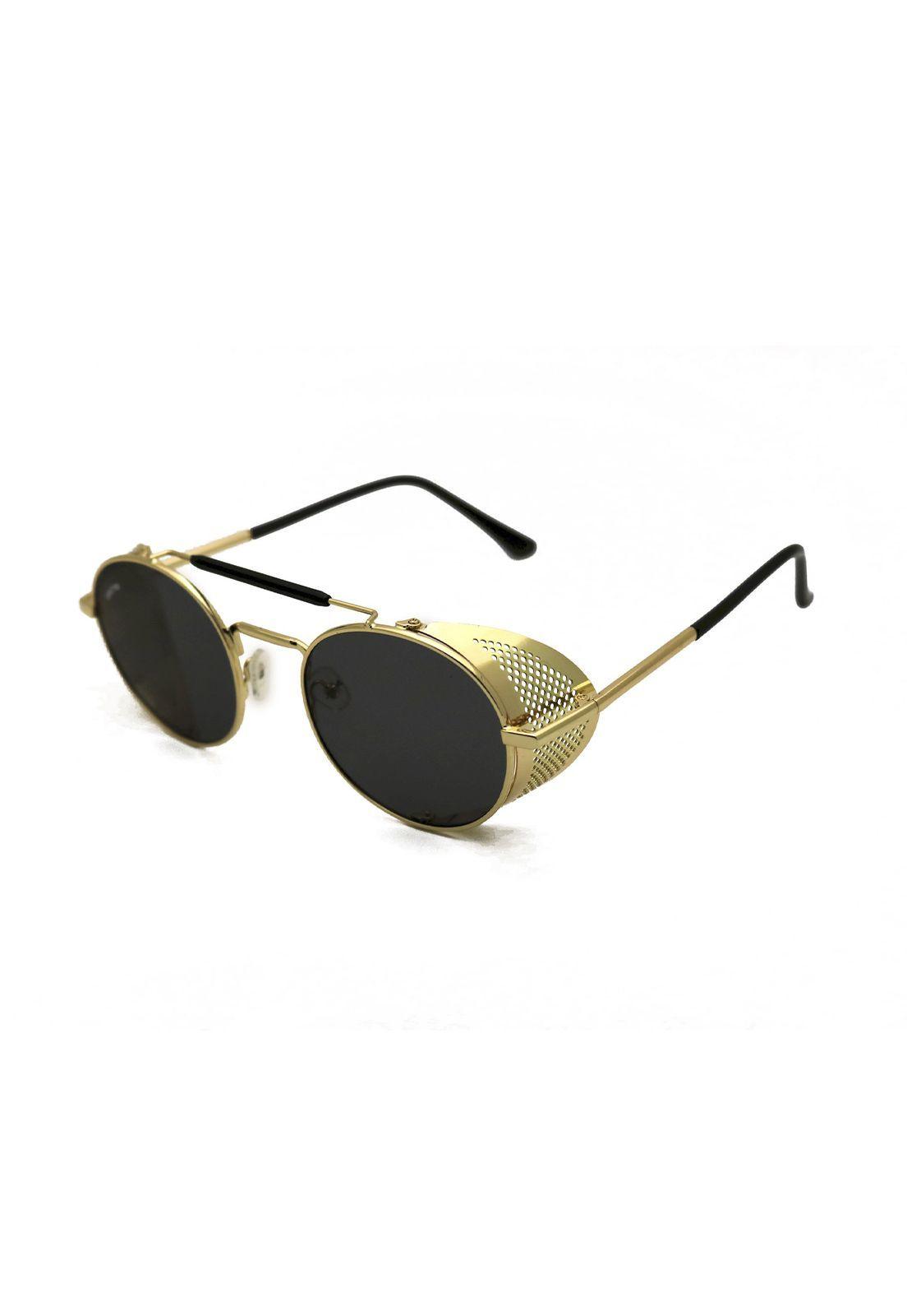 Óculos de Sol Grungetteria Easy Rider Dourado