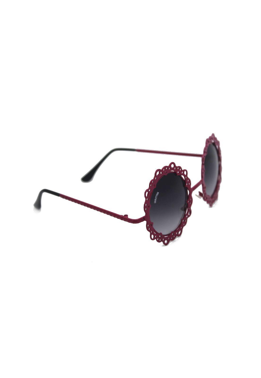 Óculos de Sol Grungetteria Flower Power Magenta