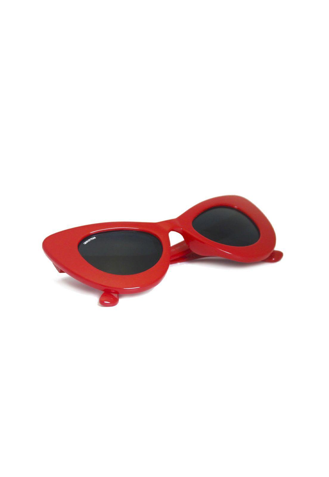 Óculos de Sol Grungetteria Lola Vermelho