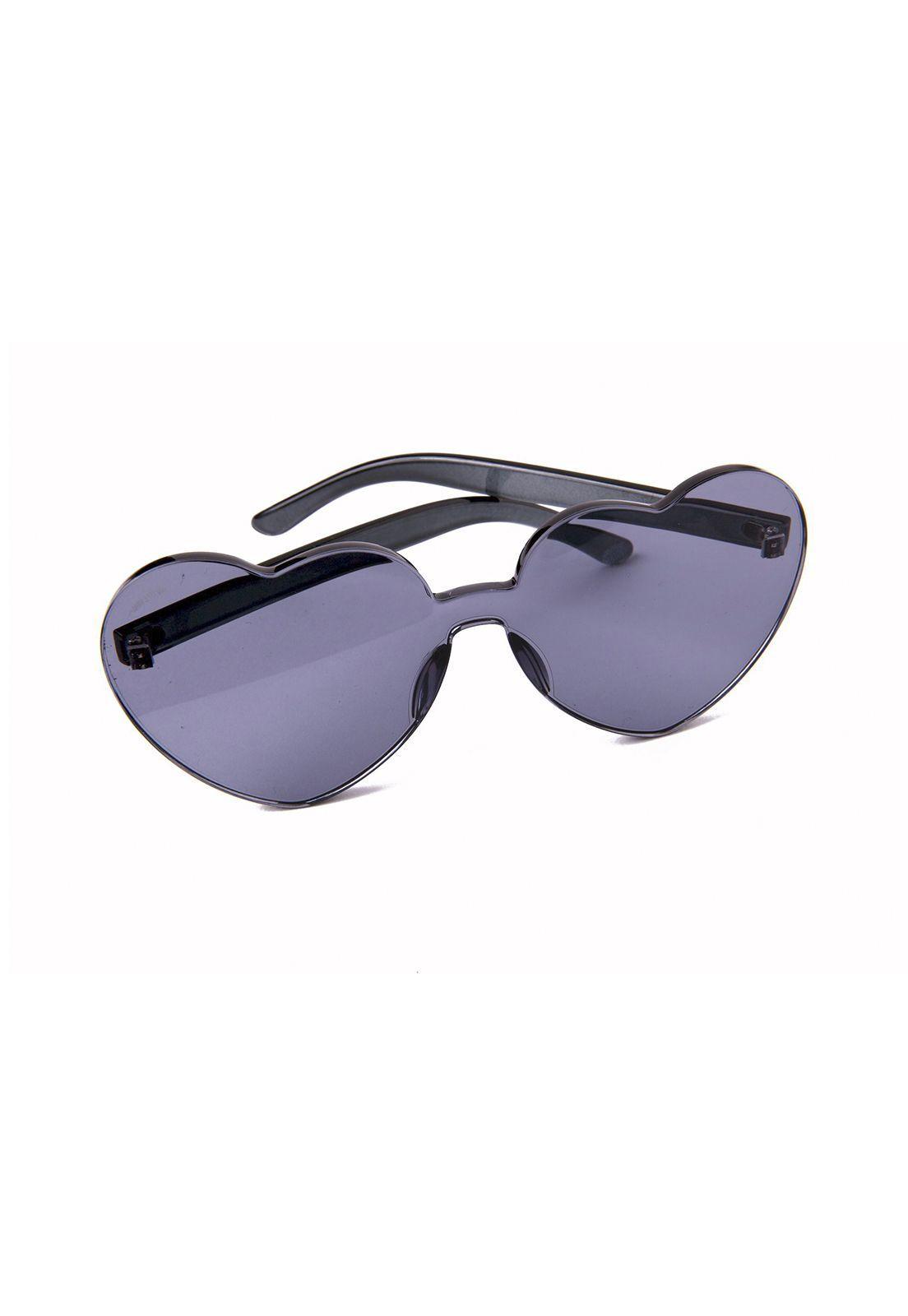 Óculos de Sol Grungetteria Love Fumê