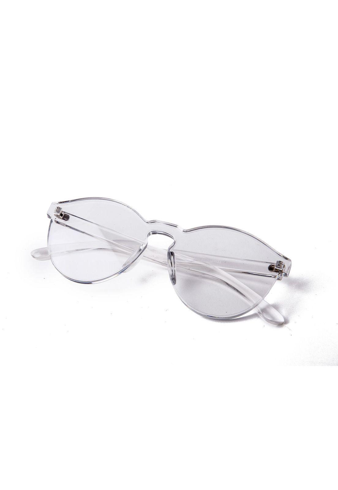 Óculos de Sol Grungetteria Mojo Transparente
