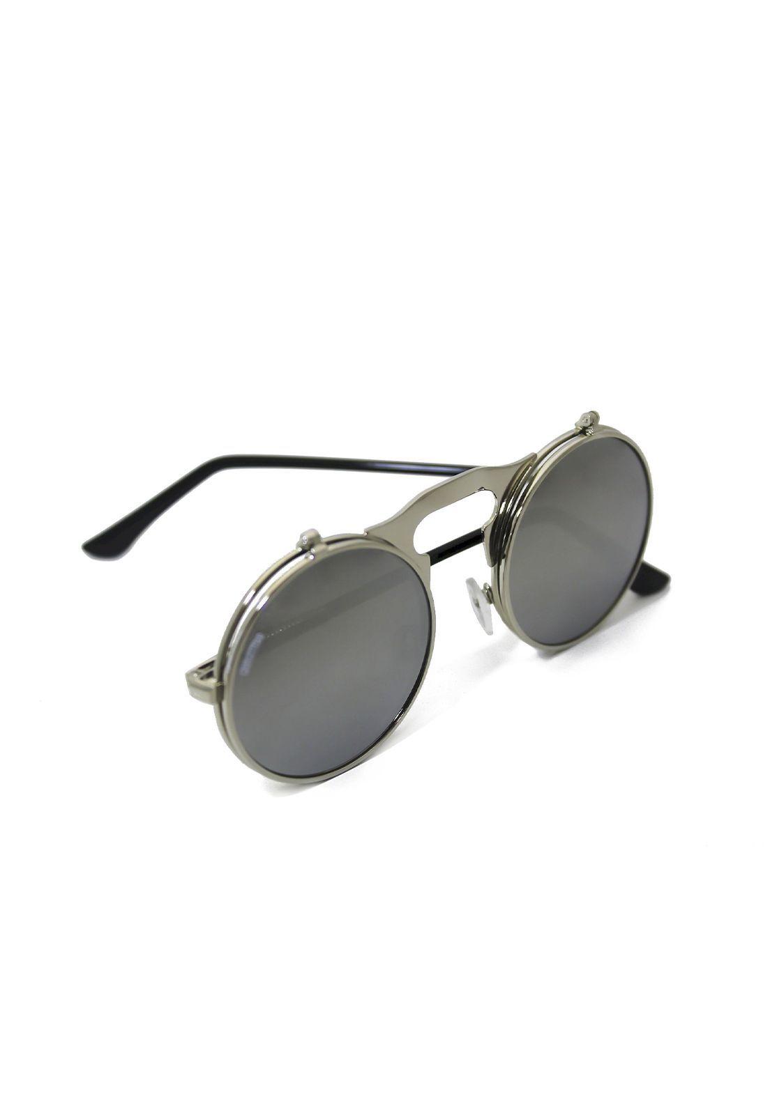 Óculos de Sol Grungetteria Narciso Prata