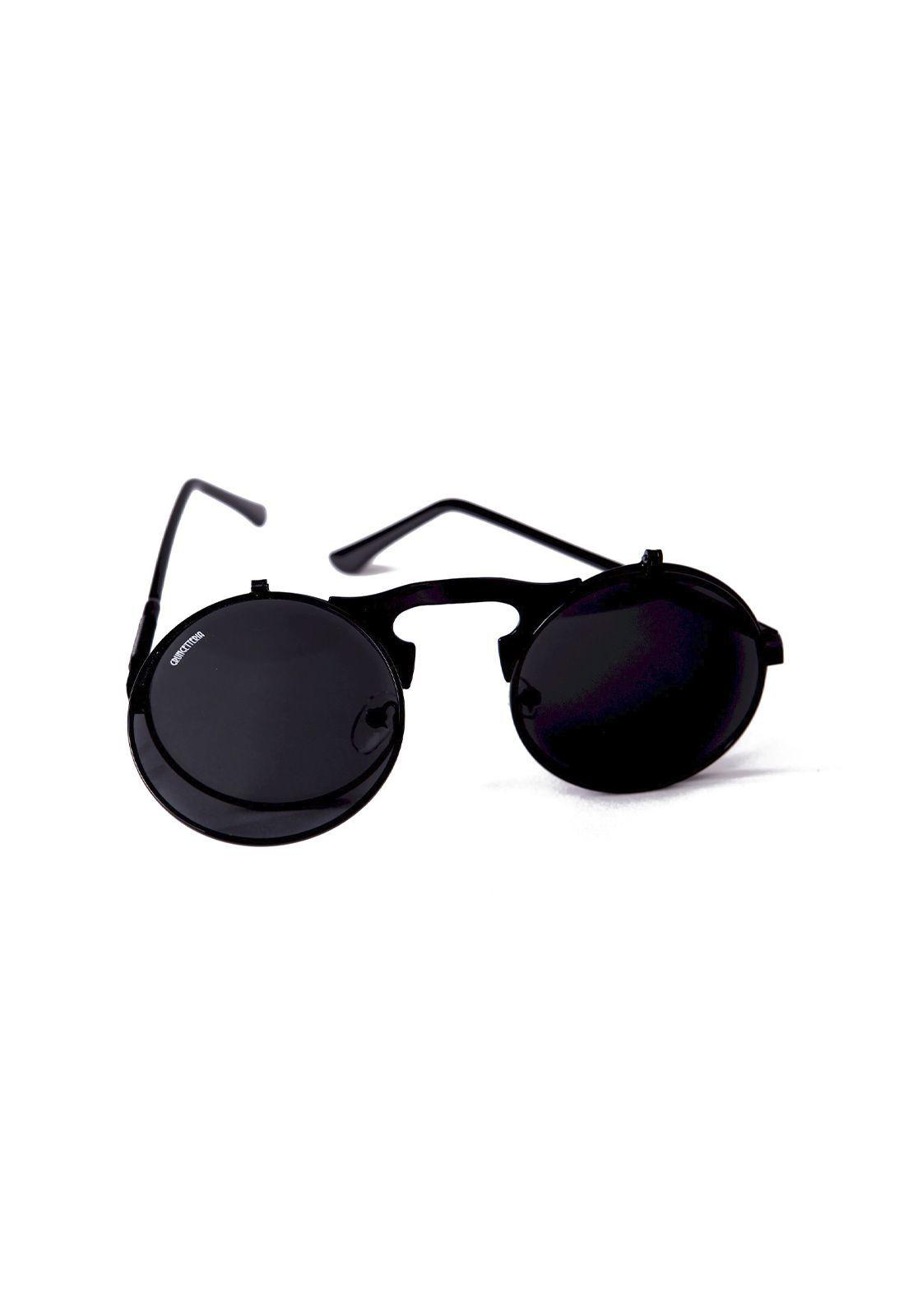Óculos de Sol Grungetteria Narciso Preto